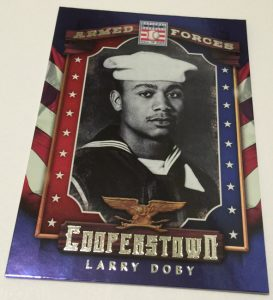 Larry Doby 2015 Panini Cooperstown