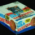 Fleer 1986-87 Fleer basketball wax box