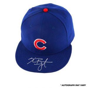 Autographed Kris Bryant cap