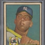 Mickey Mantle 1952 Topps PSA Authentic
