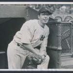 Joe DiMaggio 1937 photo
