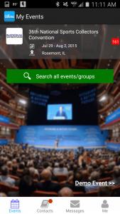 Mobile App NSCC Screen shot