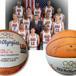 1992 Dream Team autographed basketball