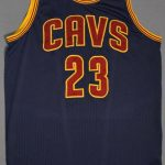 Game worn LeBron James 2015 NBA Finals jersey