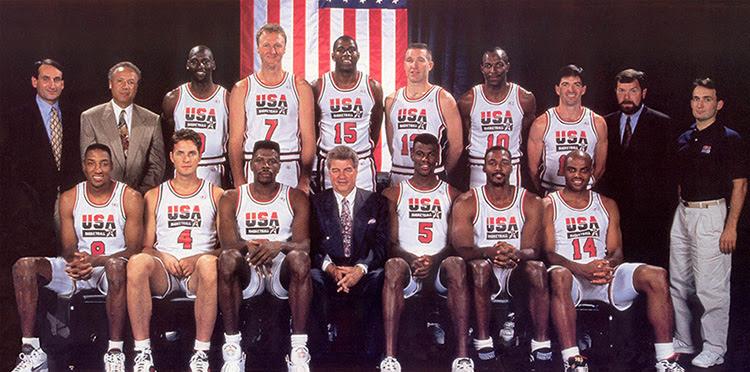 1992 USA Olympic basketball Dream Team