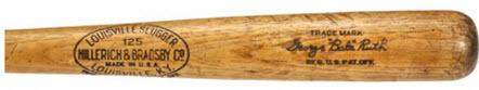 Bat barrel Babe Ruth