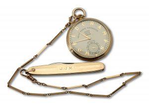 Johnny Murphy 1938 World Series pocket watch