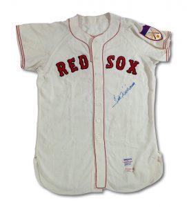 1950-51 Ted Williams game jersey