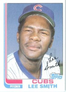 1982 topps lee smith