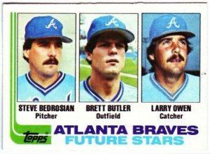 1982 topps brett butler