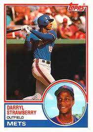 1983 Topps Traded Darryl Strawberry