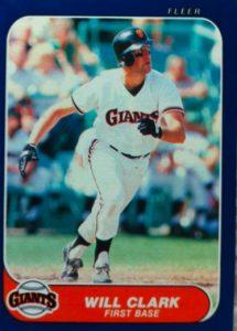 1986 fleer will clark