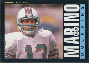 Dan Marino 1985 Topps