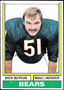 Dick Butkus 1974 Topps