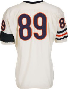 Game used Mike Ditka jersey