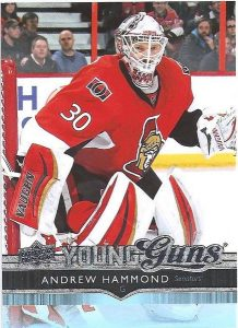 SP Authentic Young Guns Update Andrew Hammond