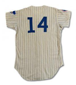 Ernie Banks jersey 1968 home