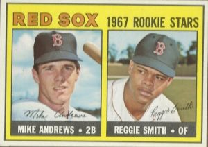 Reggie Smith-Mike Andrews 1967 Topps
