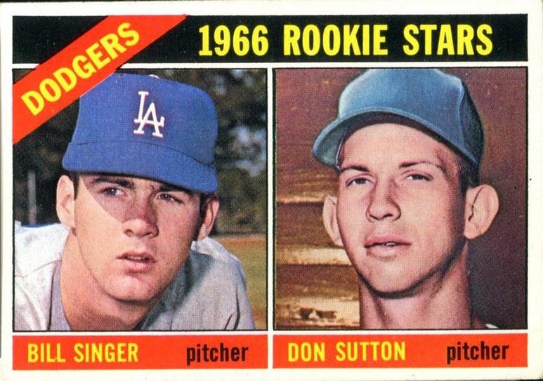 Don Sutton-Bill Singer 1966 Topps