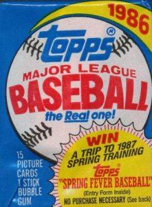 1986 topps