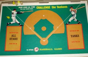 Game board Challenge the Yankees