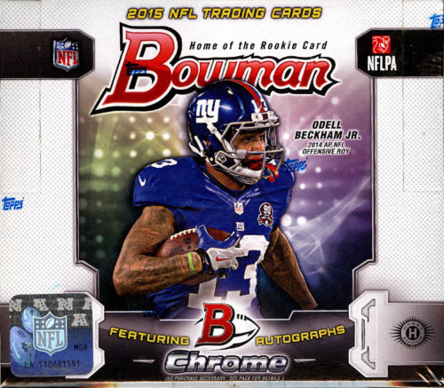 Bowman Football hobby box