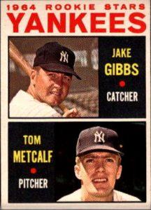 Jake Gibbs 1964 Topps Rookie