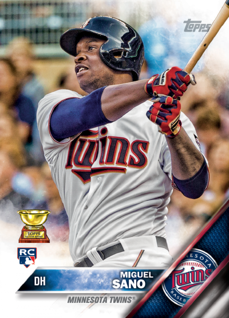 2016 Topps Miguel Sano rookie card
