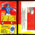 Topps 1965 Football pack