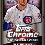 Topps Chrome Baseball 2015
