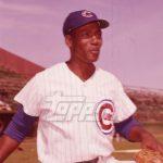 Ernie Banks Topps photo negative 1972