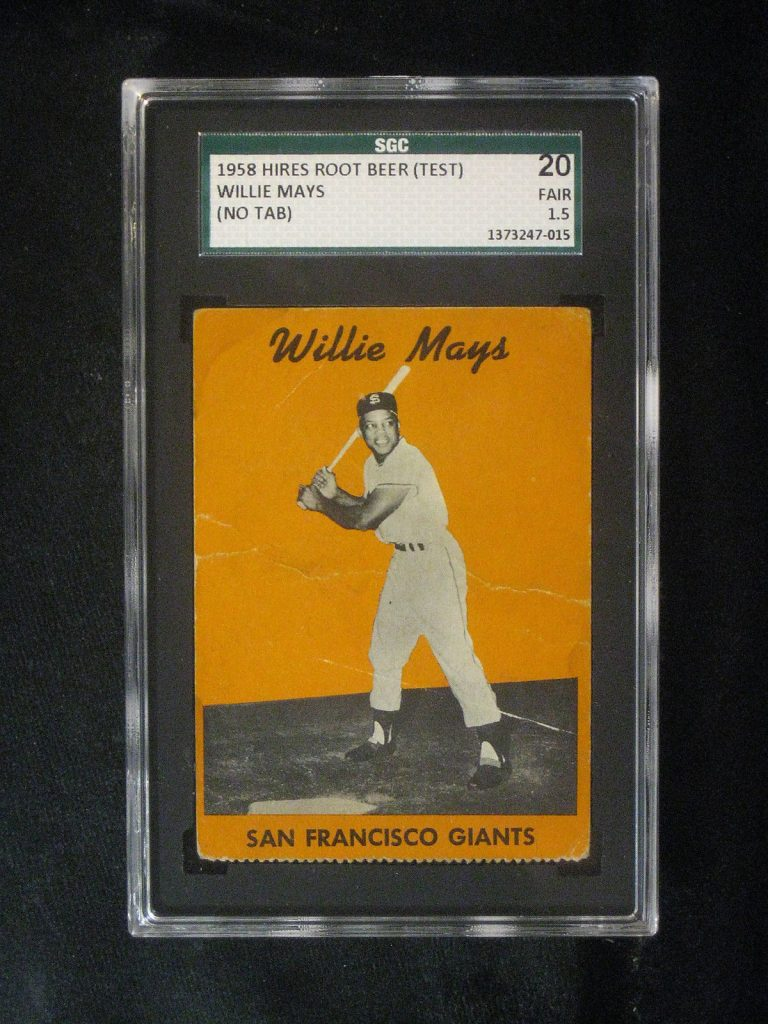 Willie Mays 1958 Hires test