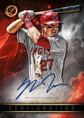 Mike Trout 2016 Topps Legacies Auto