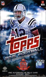 Topps Football hobby box