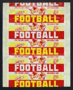 Bowman 1952 wrapper football