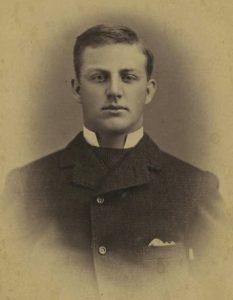 Remington as a Yale student