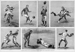 Yale football, November 1888