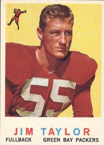 Jim Taylor 1959 Topps