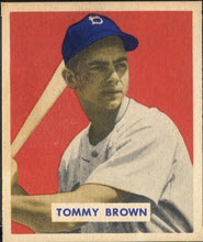 Tommy Brown 1949 Bowman