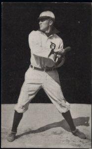 Ty Cobb 1907 Dietsche postcard