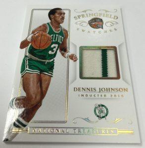 2014-15 Panini National Treasures basketball Dennis Johnson