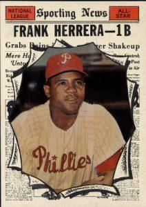 Frank Herrera 1961 Topps All-Star