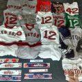Game-used Mike Napoli memorabilia Red Sox