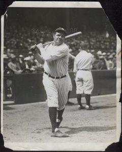 Babe Ruth 1933 photo