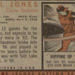 Hal Jones 1962 Topps