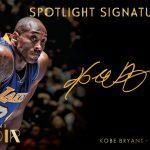 2014-15 Panini Noir Kobe Bryant auto