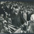 1922 first pitch President Harding