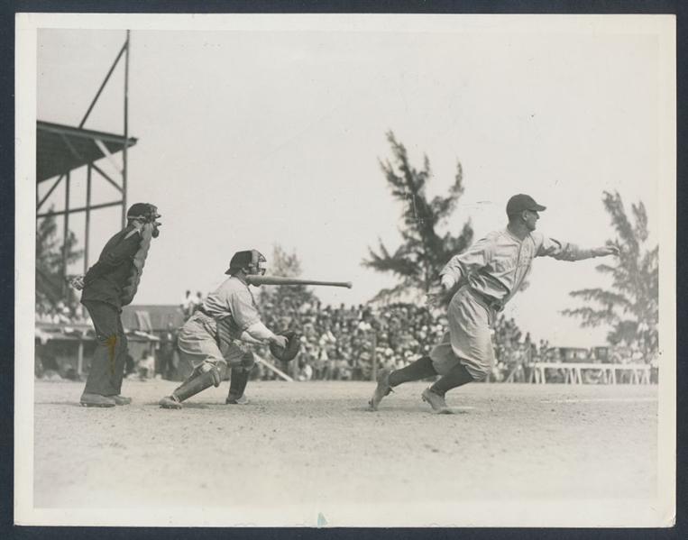 Photograph Lou Gehrig 1930
