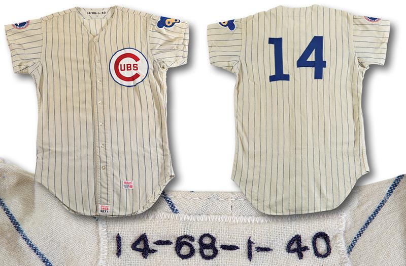 1968 Ernie Banks jersey