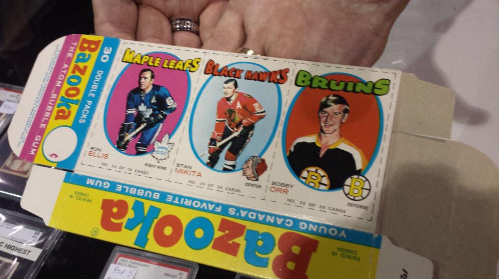 Bobby Orr 1971-72 Bazooka hockey box